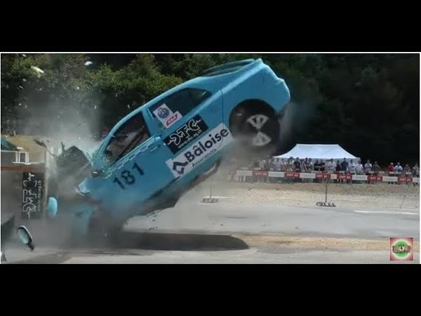 Testes de colisão a 200 km/h (insano)