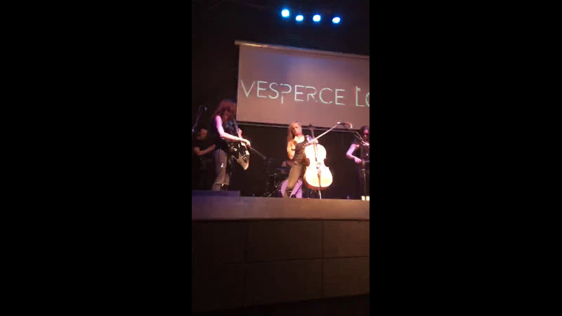 VESPERCELLOS Русский рок на виолончелях Live