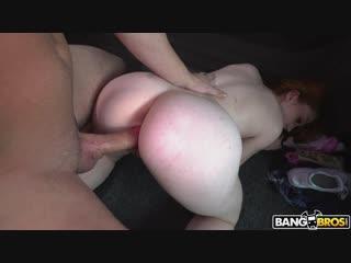 Redhead paid to fuck in the bus  arietta adams