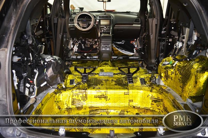Шумоизоляция Ford Explorer, изображение №8