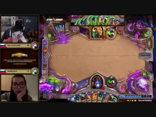 [Hearthstone StarLadder] SilverName vs harleen, StarLadder Hearthstone Ultimate Series