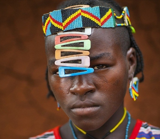 The most unusual hairstyles for women of African tribes ...