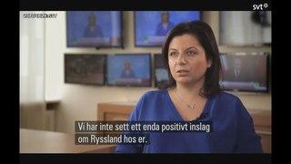 Маргарита Симоньян дала интервью шведскому ТВ
