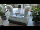 Мой увлажнитель воздуха из мха Sphagnum magellanicum Biofilter humidifier