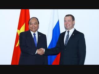 Дмитрий Медведев прибыл во Вьетнам с официальным визитом | 18 ноября | Вечер | СОБЫТИЯ ДНЯ | ФАН-ТВ