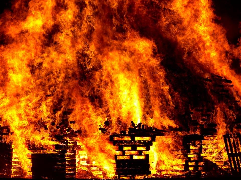 В прошлом году на пожарах в Марий Эл погибли пять детей