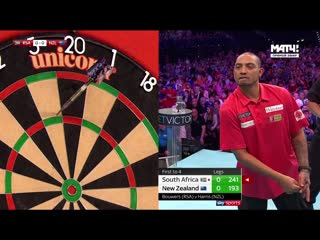 New Zealand vs South Africa (PDC World Cup of Darts 2019 / Round 2)
