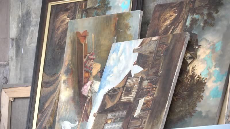 Штиглица Кафедра живописи и реставрации 2