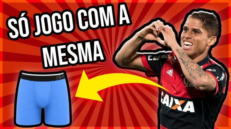 """JOGO SEMPRE COM A MESMA CUECA"""" Cuellar do Flamengo"""