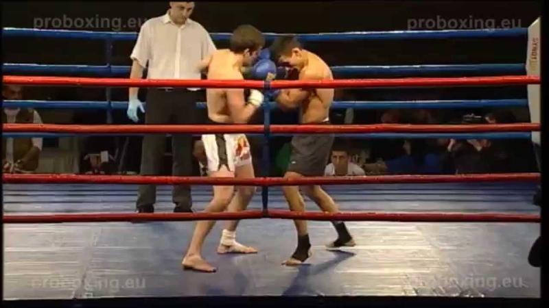 Gvido Seilis LAT VS Vitalijs Usovs LAT Magadan Fights 27 01 2014
