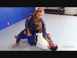 Knee Shield To X-Guard Sweep. Lucas Leite