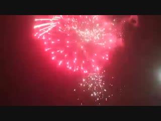 Новогодний салют в Стерлитамаке! New year salute in Sterlitamak!