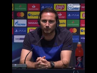 I lose one in poor circumstances, we lost against atletico, we gave them the super cup. it was different in munich...  frank