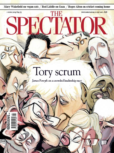 Book cover The Spectator 1.06.2019
