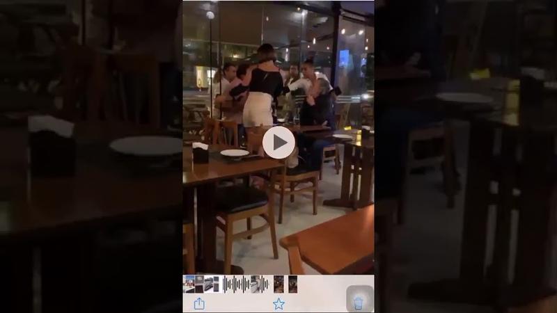 Vídeo: Zé de Abreu se envolve em mais um barraco em restaurante