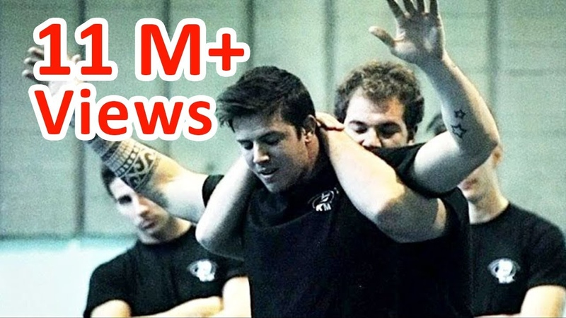 KRAV MAGA TRAINING How to escape the Full Nelson