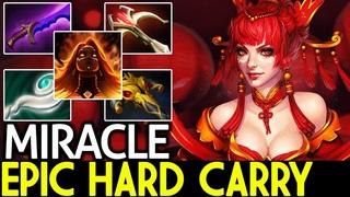 Miracle- [Lina] Epic Hard Carry Build 22 Kills  Dota 2