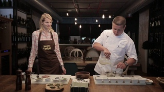 Кулинарный мастер-класс Тимура Агзамова ресторан Хмели&Сунели г. Сочи