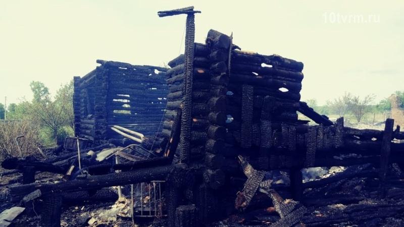 Пожар в Старом Бадикове