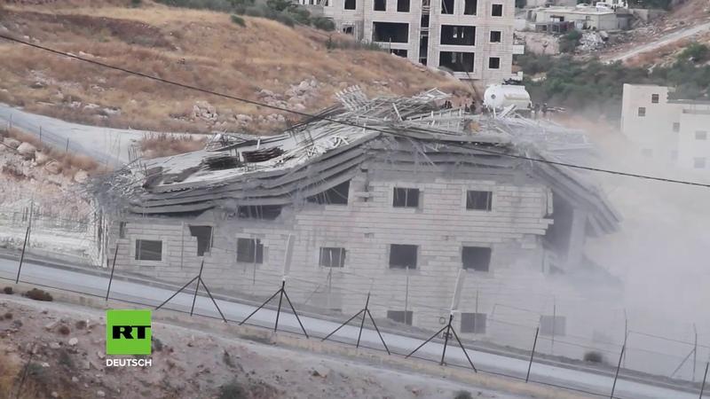 Israel lässt palästinensische Gebäude abreißen und erntet international Kritik