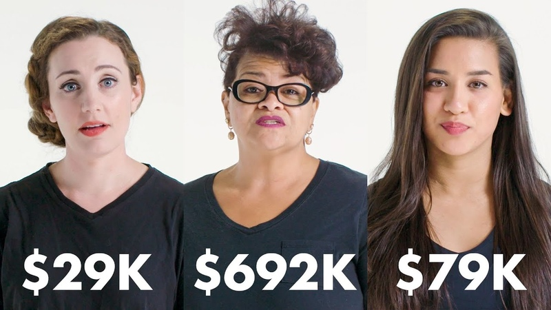 Women with Different Salaries on What Theyre Saving For | Glamour vk.comtopnotchenglish