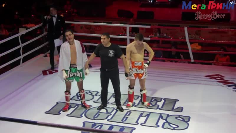 Steel fights, кикбоксинг K-1 в ГриннБир г. Курск (18 февраля 2018)