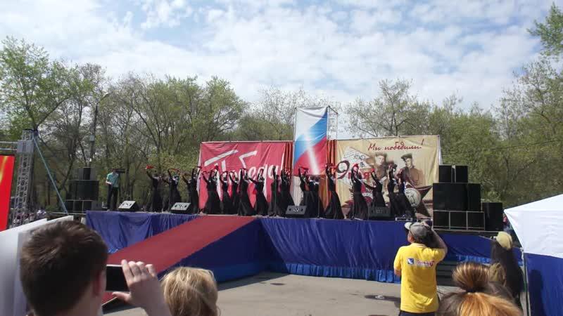 День победы Коркино 2019г Танец Сухопляс