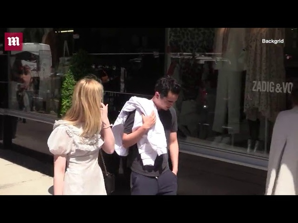 Elle Fanning out with rumored boyfriend Max Minghella in NYC