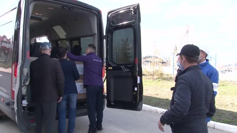 Автобус Добра добрался до Баймака