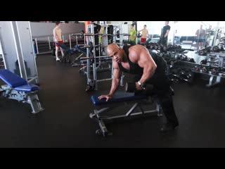 Мастер-класс victor_martinez.тренироа мышц спины