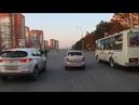 Кемерово. Автобус 163э - дер.Петровка . Bus route 163э, destination - Petrovka village .
