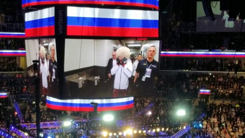 UFC223 Khabib Nurmagomedov vs. Al Iaquinta Walkout Introductions