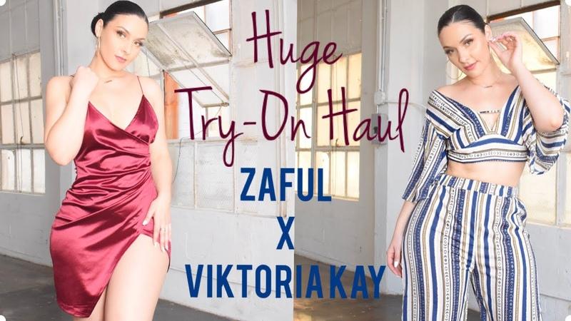 Huge Black Friday Try On Haul ZAFUL X VIKTORIA KAY