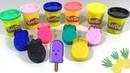 Готовим Разноцветное Мороженое из Ананасов Открываем Сюрприз - Коробочки