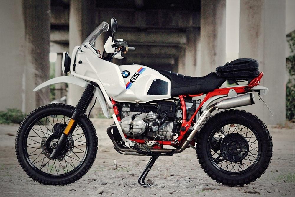 Karoo Bespoke Motorcycles: кастом BMW R100GS
