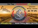 DdbRadio präsentiert: Der Tag - Deutschland 276 - Realitäten Fakten vom 13.09.2019