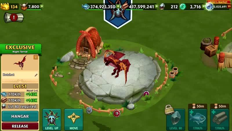 CRIMSON PACK Hotshot Titan Mode Dragons Rise of Berk