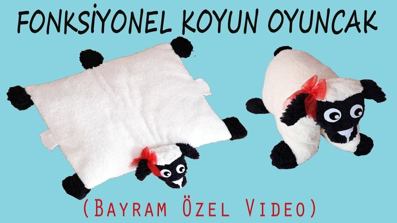 Çok Amaçlı Oyuncak Koyun Yapımı   Multi Purpose Toy Sheep Making   Craft