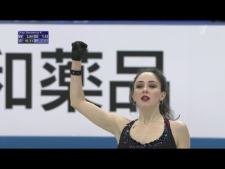 Елизавета Туктамышева. Командный ЧМ 2019 Короткая программа | 80,54 балла | 2 место