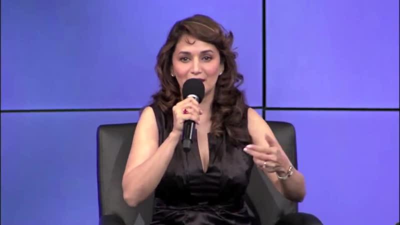Мадхури Дикшит-Нене и Шрирам Нене - Разговор в студии Google