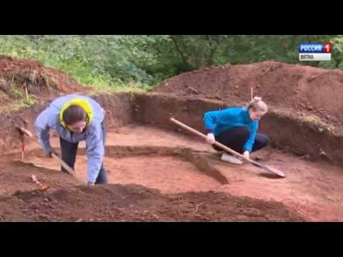 Археологические раскопки Чижевского городища VII в до н. э.