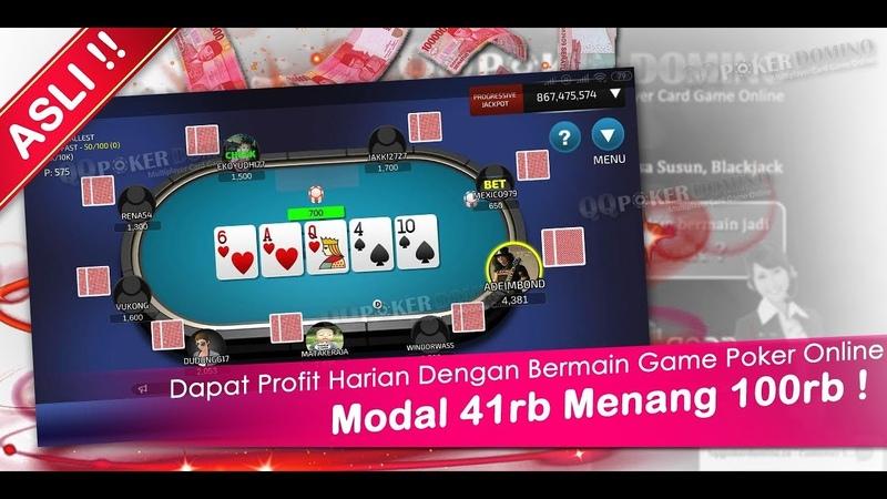 Poker Online Pulsa || Poker Online Uang Asli (Modal 41rb Profit 100rb perhari)