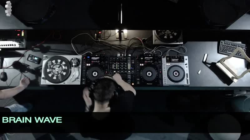 Brain Wave B2B BLACK4MAT Reactor Radio LIVE Not Format 18 07 2019