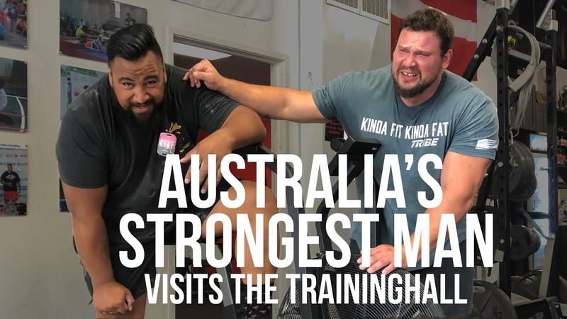 Can Martins Hang With Odd Haugen and Eddie Williams In A Grip Challenge - Road To Recovery Vlog 3