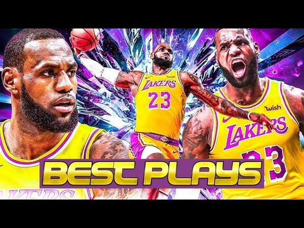 LeBron James - The VERY Best Lakers Plays of 2019 Season