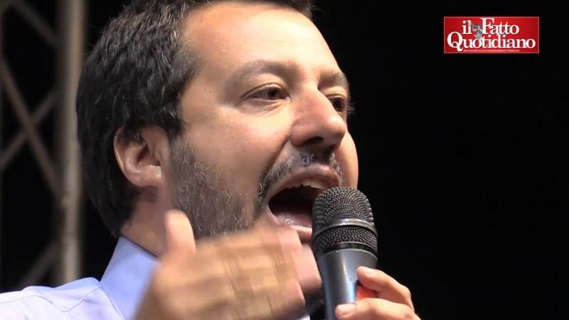 Governo, Salvini contro Soros, Balotelli, Saviano e le cooperative: Abbiamo molti nemici