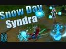 SkinSpotlights Snow Day Syndra Skin Spotlight League of Legends