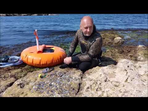 Система тритон Хука подводный коп поиск в Черном море hookah diving triton system