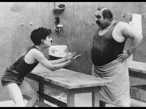 Чарли Чаплин - Лечение (1917) - (piano score; субтитры)