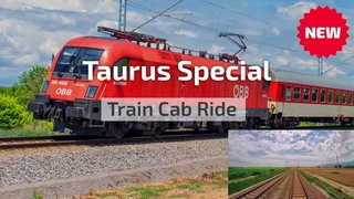 Cab Ride Bulgaria 🛤️ Taurus special charter train ft. ÖBB 1116 072 'BODENSEE' of Rail Cargo Carrier